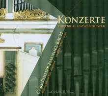 Carl Philipp Emanuel Bach (1714-1788): Orgelkonzerte Wq.34 & 35, CD