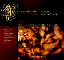 Norbert Burgmüller (1810-1836): Lieder & Kammermusik, CD