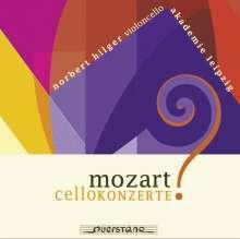 Wolfgang Amadeus Mozart (1756-1791): Cellokonzerte in D,G,B, CD