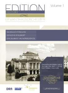 Gewandhausorchester Leipzig - Edition History Vol.1, CD