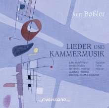 Kurt Boßler (1911-1976): Lieder & Kammermusik, CD