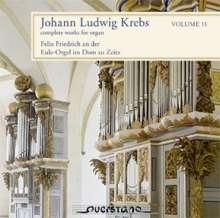 Johann Ludwig Krebs (1713-1780): Sämtliche Orgelwerke Vol.11, 2 CDs