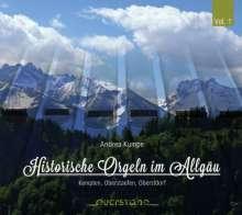 Historische Orgeln im Allgäu, CD
