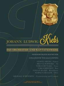 Johann Ludwig Krebs (1713-1780): Das Orchester- und Kantatenwerk, 4 CDs