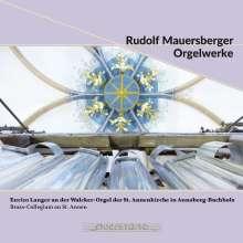 Rudolf Mauersberger (1889-1971): Orgelwerke, CD