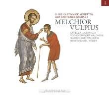Melchior Vulpius (1570-1615): Cantiones Sacrae I, CD