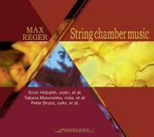 Max Reger (1873-1916): Kammermusik für Streicher, 3 CDs