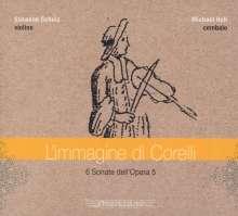 Arcangelo Corelli (1653-1713): Sonaten op.5 Nr.1,3,4,8,9,10 für Violine & Cembalo, CD
