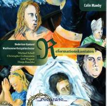 Colin Mawby (geb. 1936): Reformationskantaten, CD