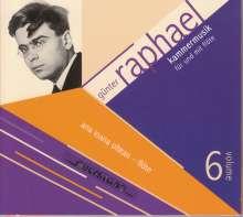 Günter Raphael (1903-1960): Günter Raphael Vol.6 - Kammermusik für und mit Flöte, 2 CDs