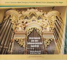 Orgelmusik aus der Johanneskirche Saalfeld, CD