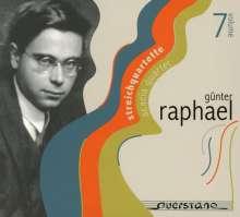 Günter Raphael (1903-1960): Günter Raphael Vol.7 - Streichquartette, CD
