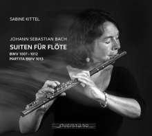 Johann Sebastian Bach (1685-1750): Cellosuiten BWV 1007-1012 arrangiert für Flöte, 2 CDs