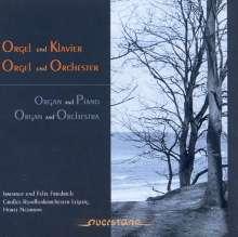 Ernst Krenek (1900-1991): Little Concerto für Klavier, Orgel, Orchester op. 88, CD