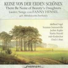 Fanny Mendelssohn-Hensel (1805-1847): Lieder, CD