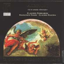 Tomaso Albinoni (1671-1751): Sonaten f.Flöte & Cembalo Nr.1-6, CD