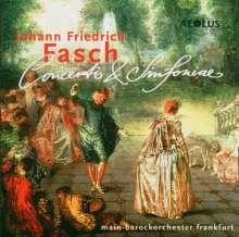 Johann Friedrich Fasch (1688-1758): Symphonien g-moll,a-moll,B-Dur, CD