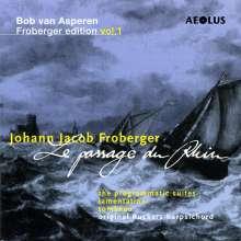 Johann Jacob Froberger (1616-1667): Suiten für Cembalo Nr.12-14,16,20,27,29,30, 2 CDs