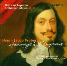 Johann Jacob Froberger (1616-1667): Suiten für Cembalo Nr.7-12,21,25,27, 2 CDs