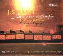 Johann Sebastian Bach (1685-1750): Französische Suiten BWV 812-817, Super Audio CD