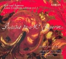 Louis Couperin (1626-1661): Louis Couperin Edition Vol.1, Super Audio CD