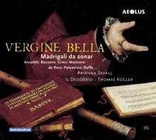 "Arianna Savall - Madrigali da sonar ""Vergine bella"", Super Audio CD"