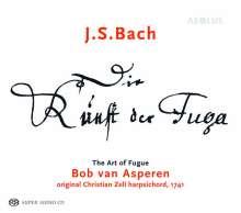 Johann Sebastian Bach (1685-1750): Die Kunst der Fuge BWV 1080, Super Audio CD