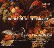 Flanders Recorder Quartet - Banchetto Musicale, SACD