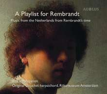Bob van Asperen - A Playlist for Rembrandt, CD