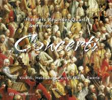 Flanders Recorder Quartet & Friends - Concerti, SACD