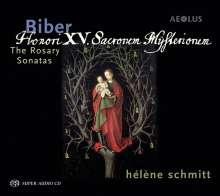 Heinrich Ignaz Biber (1644-1704): Rosenkranz-(Mysterien-)Sonaten Nr.1-16, 2 SACDs