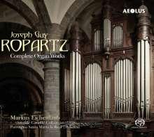 Joseph Guy Ropartz (1864-1955): Sämtliche Orgelwerke, 2 SACDs