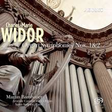 Charles-Marie Widor (1844-1937): Orgelsymphonien Nr. 1 & 2, Super Audio CD