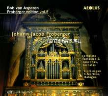 Johann Jacob Froberger (1616-1667): Orgelwerke (Complete Fantasias / Complete Canzonas / Toccatas), SACD