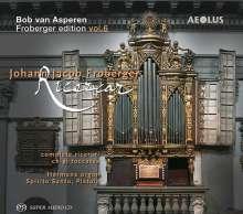 Johann Jacob Froberger (1616-1667): Orgelwerke (Complete Ricercari / Chigi Toccatas), Super Audio CD
