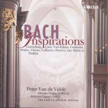 Peter Van de Velde - Bach Inspirations, CD