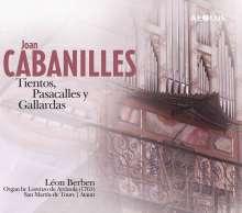 Juan Bautista Cabanilles (1644-1712): Orgelwerke, SACD