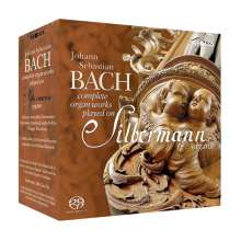 Johann Sebastian Bach (1685-1750): Orgelwerke (Gesamtaufnahme auf Silbermann-Orgeln/SACD), 19 SACDs