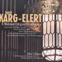 Sigfrid Karg-Elert (1877-1933): Orgelwerke Vol.8, Super Audio CD