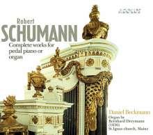 Robert Schumann (1810-1856): Sämtliche Werke für Pedalflügel oder Orgel, Super Audio CD