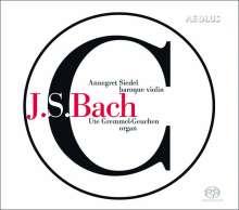 Johann Sebastian Bach (1685-1750): Werke für Violine & Orgel, Super Audio CD