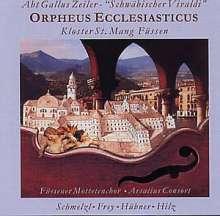 """Gallus Zeiler (1705-1755): Geistliche Werke """"Orpheus Ecclesiasticus"""", CD"""