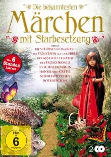 Die bekanntesten Märchen mit Starbesetzung, 2 DVDs