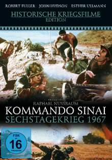 Kommando Sinai - Sechstagekrieg 1967, DVD