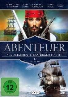 Abenteuer - Aus 150 Jahren Literaturgeschichte, 4 DVDs