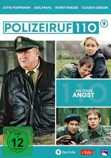 Polizeiruf 110: Angst (Folge 233), DVD