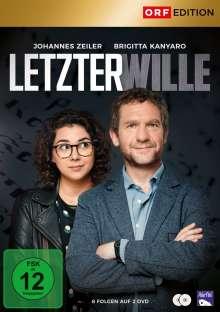 Letzter Wille (Kompeltte Serie), 2 DVDs