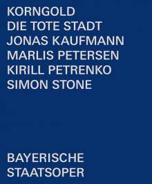 Erich Wolfgang Korngold (1897-1957): Die tote Stadt, Blu-ray Disc