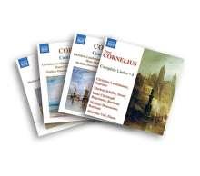 Peter Cornelius (1824-1874): Sämtliche Lieder (Komplett-Set exklusiv für jpc), 4 CDs