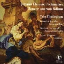 Johann Heinrich Schmelzer (1623-1680): Sonatae unarum fidium (1664), CD